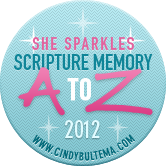 She Sparkles Scripture Memory Challenge 2012