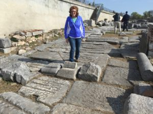 Philippi. (Standing on the Via Egnatia)