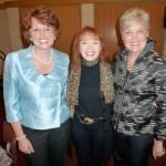 Me, Carol Kent, Jennie Dimkoff