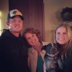 Jake today, along with his mama (me), Ryanne, & Dakota the dog