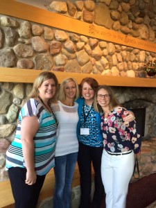 Danielle, Paulette, me, & Jen Ferguson