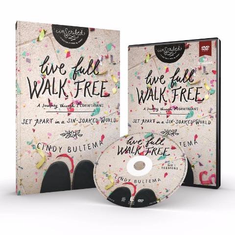 Live Full Walk Free, a Bible Study on 1 Corinthians by Cindy Bultema